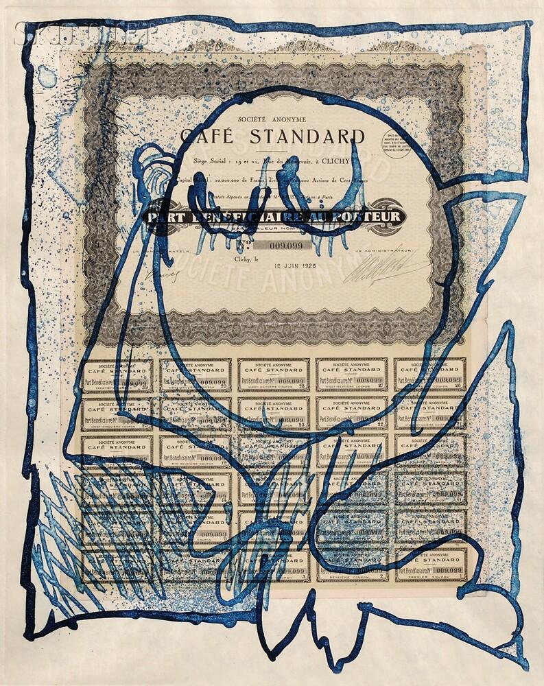 Pierre Alechinsky (Belgian, b. 1927)      KRACH / A Portfolio of Five Works