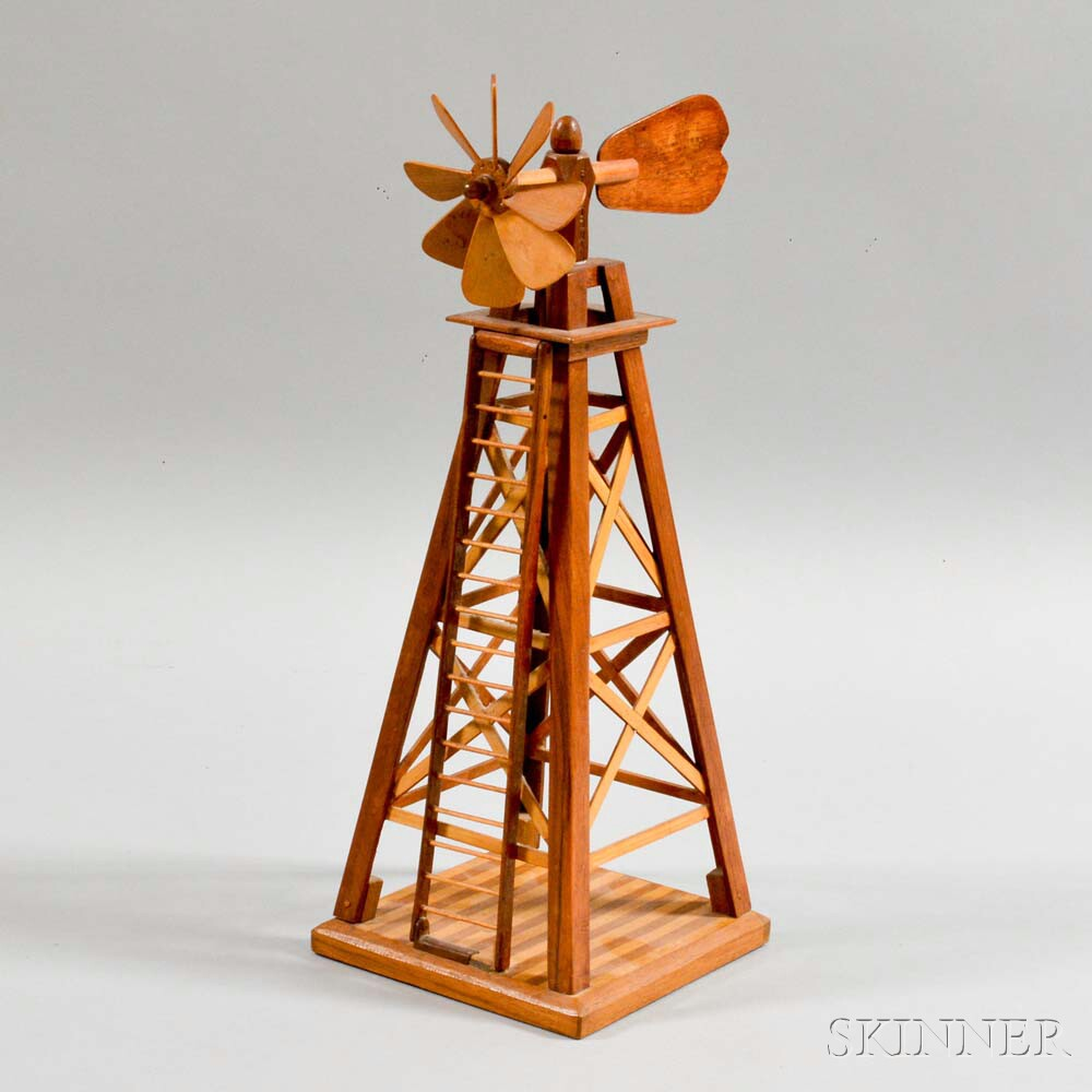 Folk Art Windmill Structure