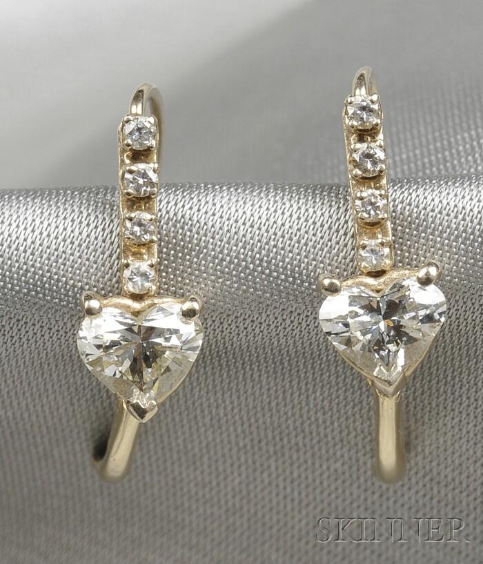 Diamond Earpendants