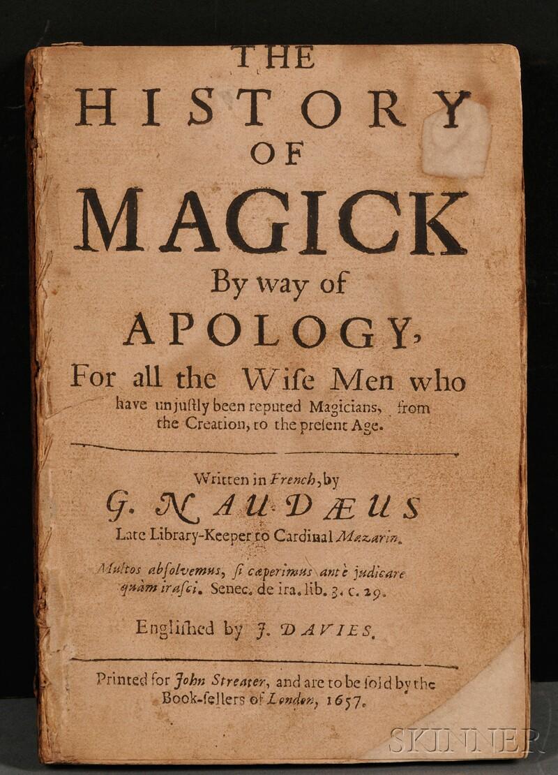 (Witchcraft), Naude, Gabriel (1600-1653)