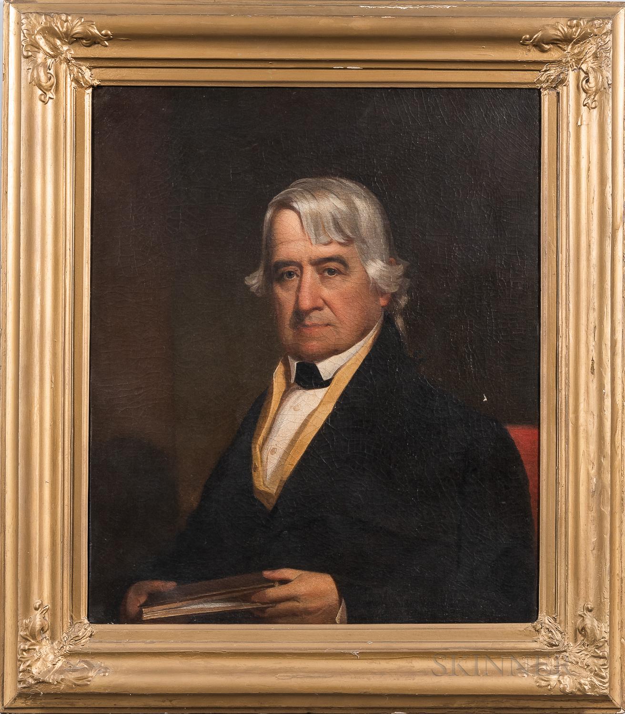 Jacob Eichholtz (Pennsylvania, 1776-1842)      Portrait of Adam Reigart Jr., c. 1835