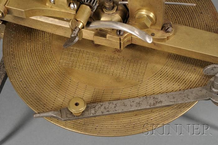 Brass and Steel Wheel Cutting Engine