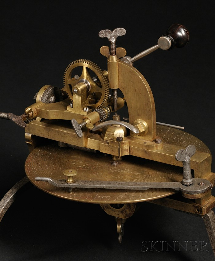 Brass and Steel Wheel Cutting Engine
