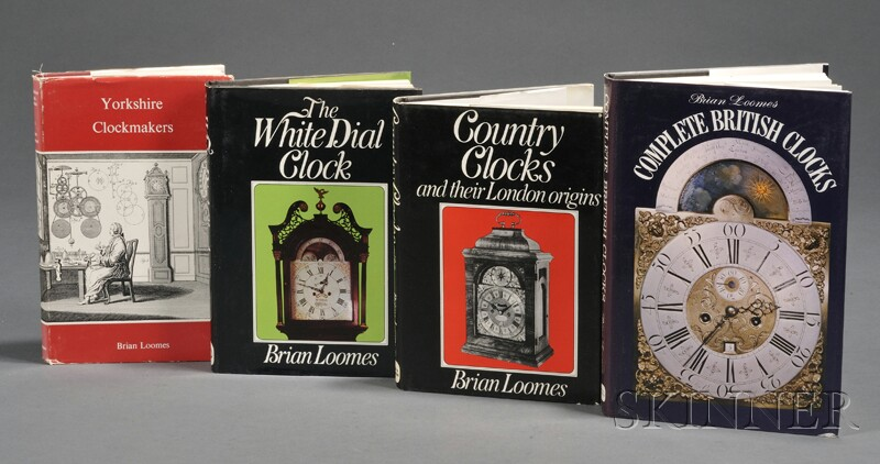 Four Horological Titles by Brian Loomes