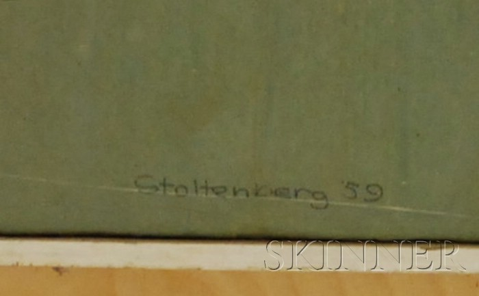 Donald Hugo Stoltenberg  (American, b. 1927)      Chicago El