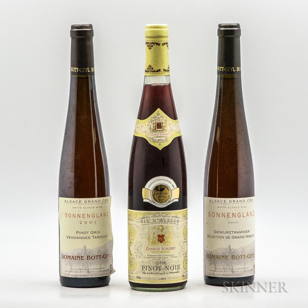 Mixed Alsatian Wine, 3 bottles