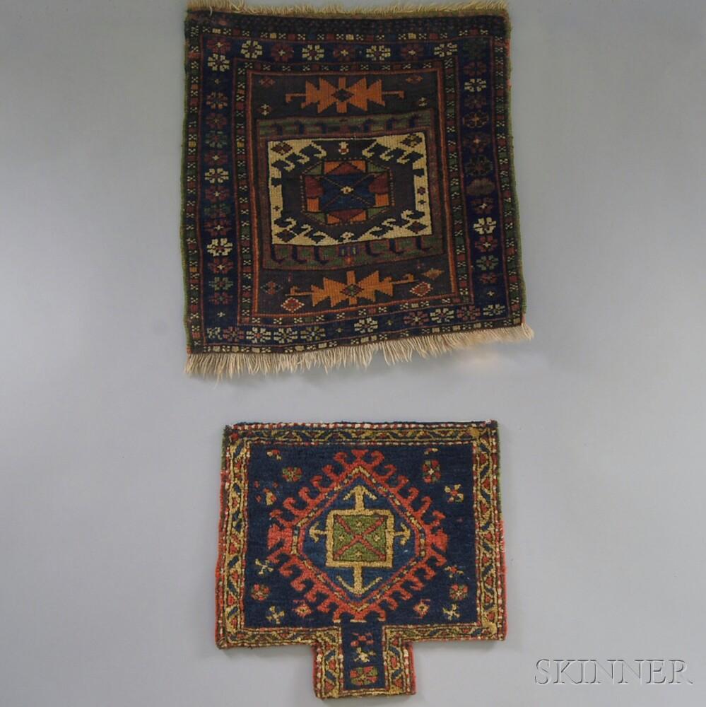 Northwest Persian Salt Bag and a Kurd Bagface
