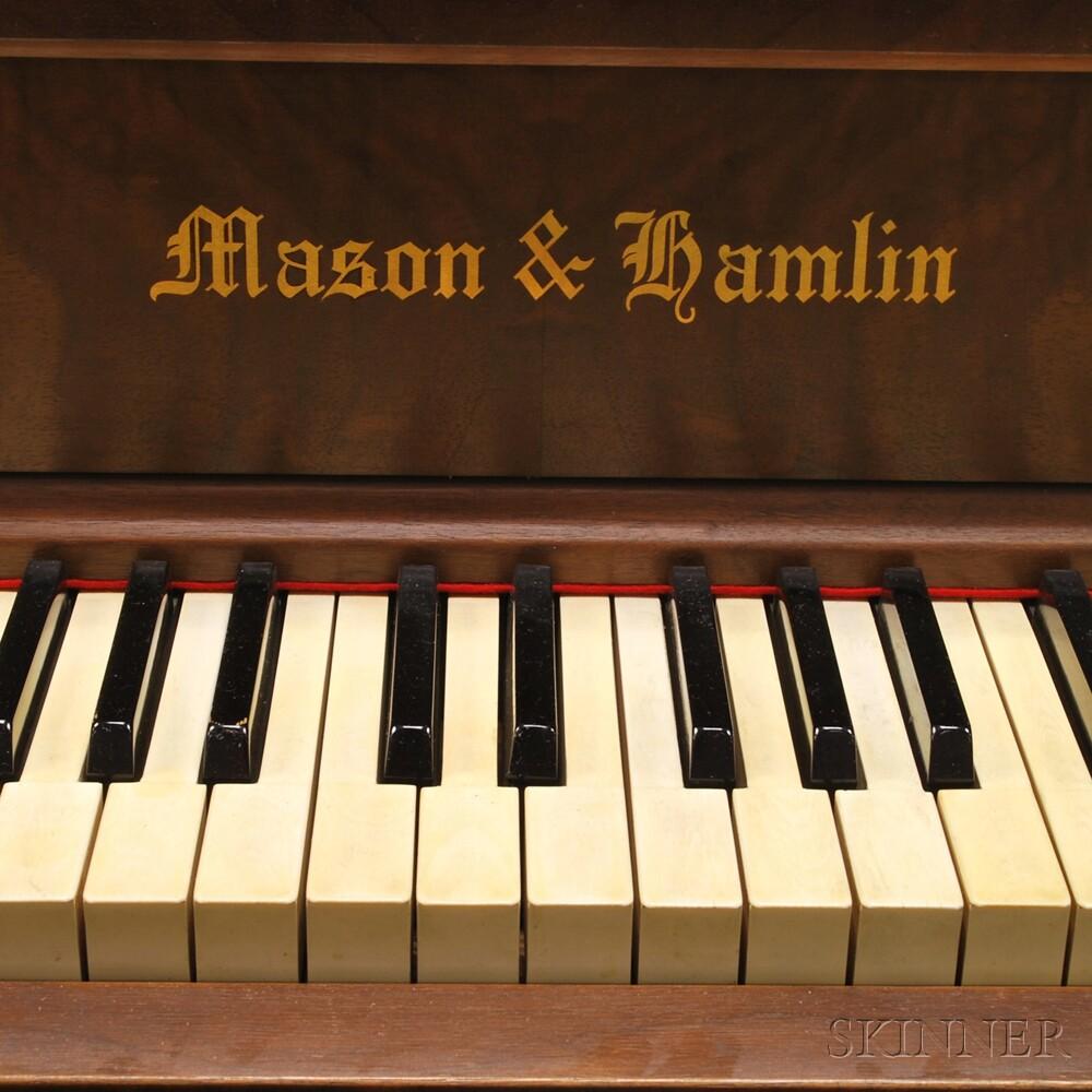 Classical Style Walnut Veneer Mason Amp Hamlin Player Piano