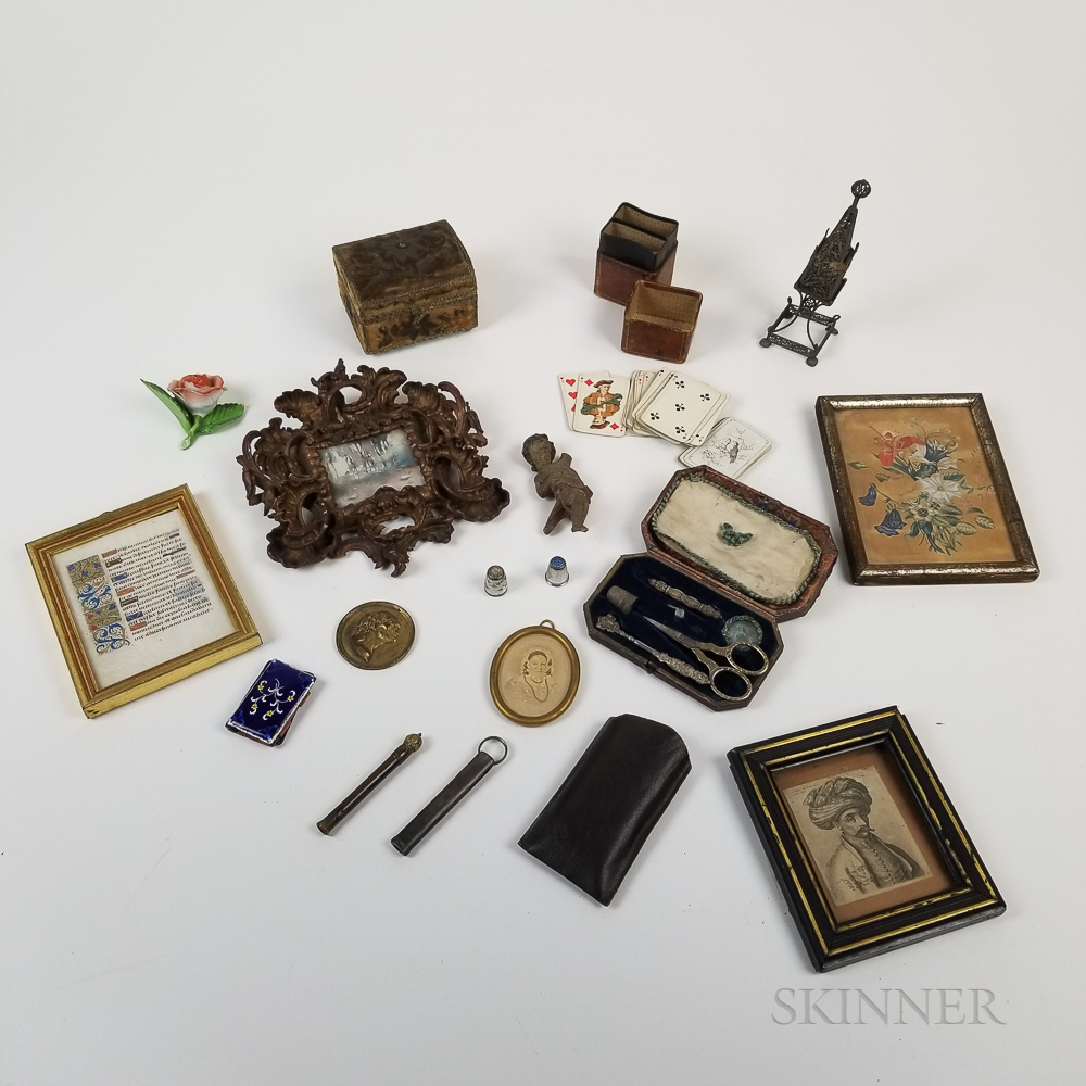 Group of Mostly Continental Decorative Objects