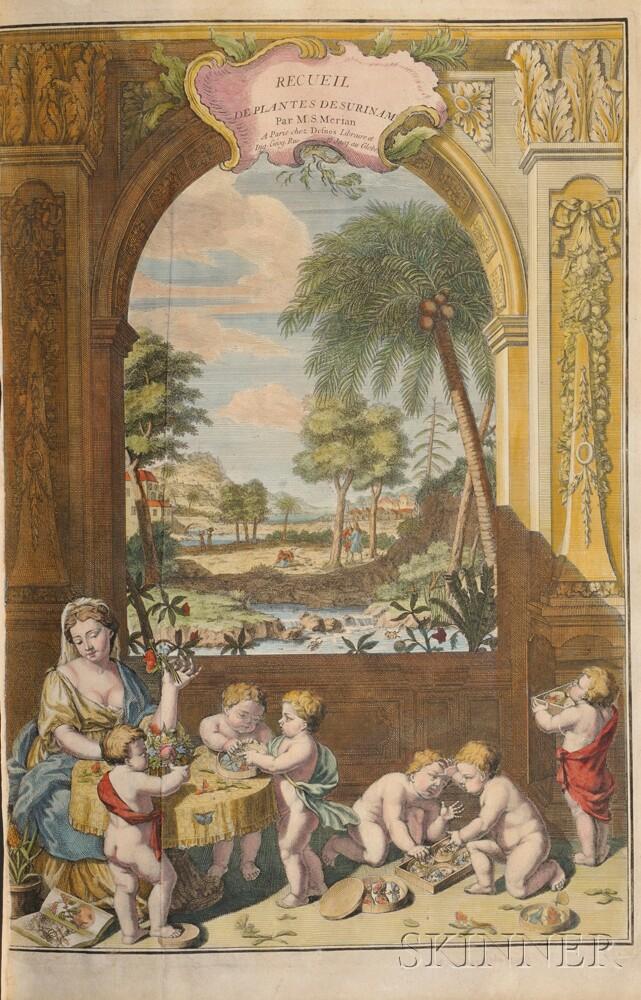 Merian, Maria Sybilla (1647-1717) Histoire Generale des Insectes de Surinam et Toute L'Europe