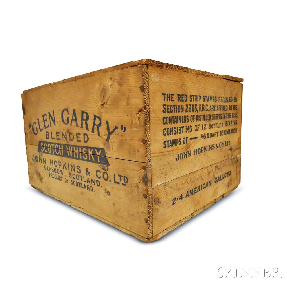 Glen Garry, 12 4/5 quart bottles