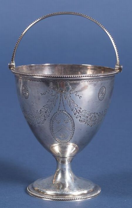 George III Silver Standing Open Sugar Bowl