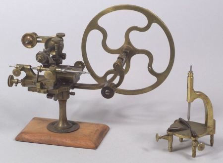 Swiss Watchmaker's Rounding-Up Tool and a Brass Uprighting Tool