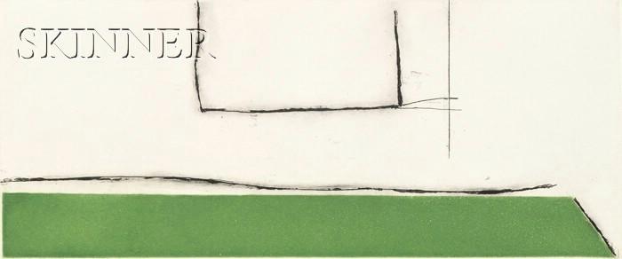 Robert Motherwell (American, 1915-1991)      The Green Studio