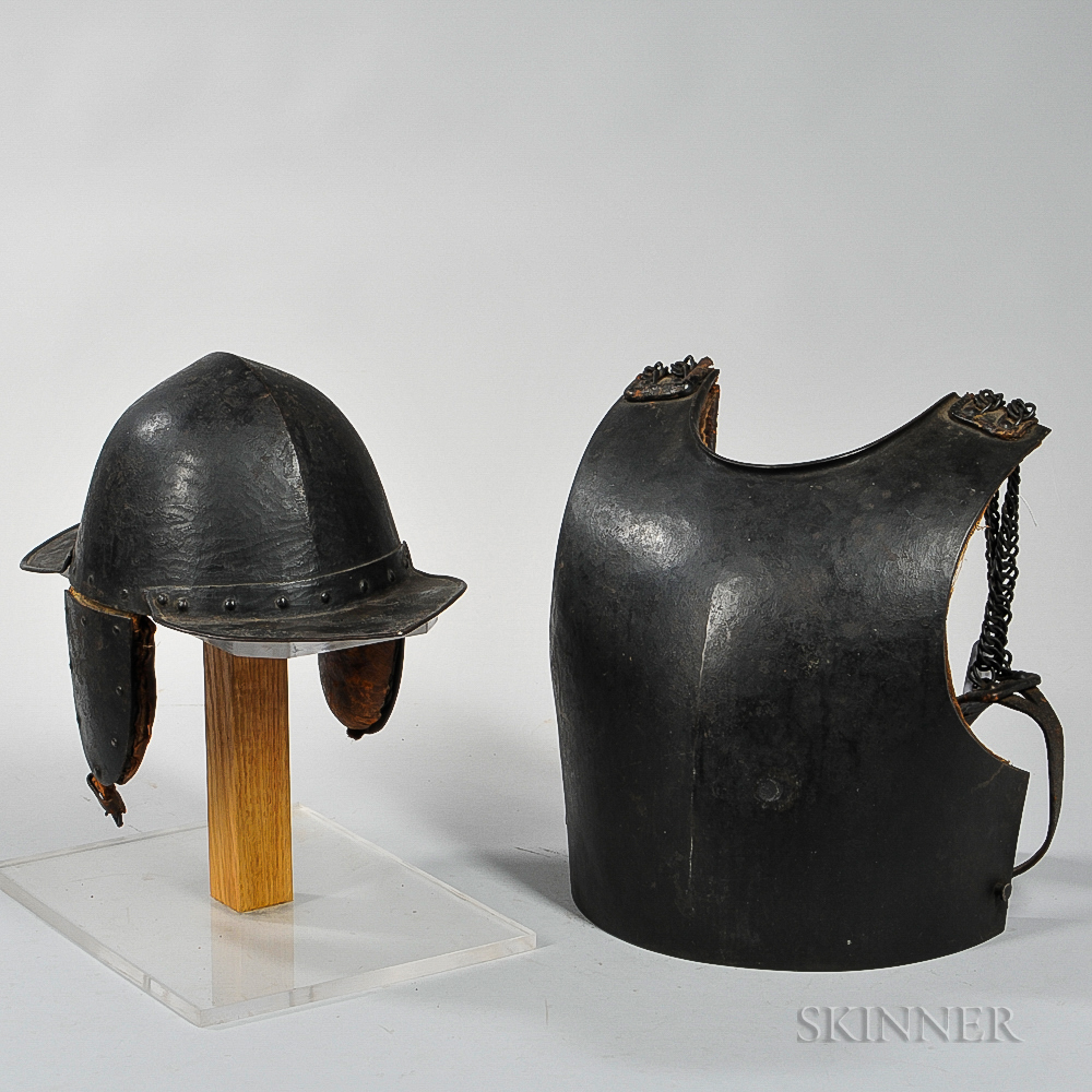 Sapper's Helmet and Breast Plate