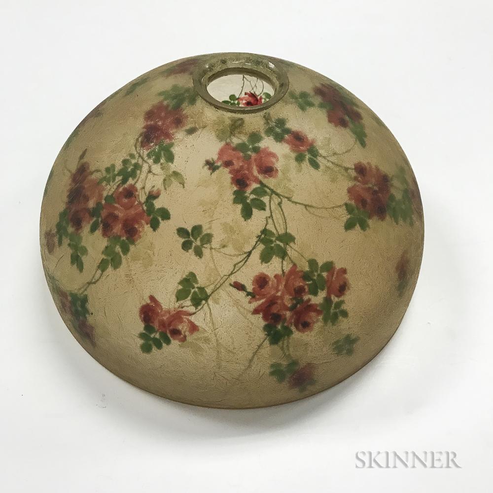 Handel Reverse-painted Lampshade