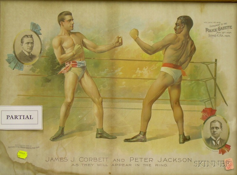Three Framed 19th Century Sports Related Hand-colored and Chromolithograph Prints