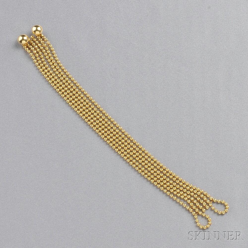 "18kt Gold ""Draperie"" Bracelet, Cartier"