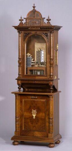 Polyphon 22-Inch Glockenspeil Disc Musical Box