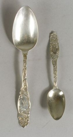 "Twenty-one Pieces of Towle Sterling ""Princess"" Pattern Flatware"