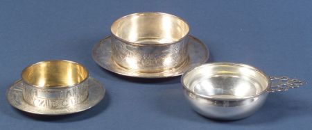 Group of Children's Sterling Hollowware