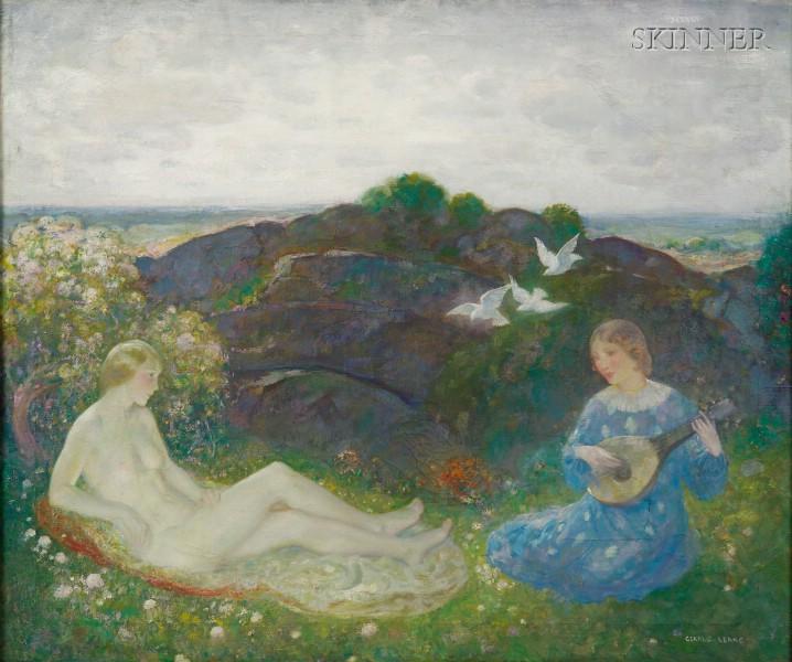 Gerald Leake (American, 1885-1975)      Song of Spring