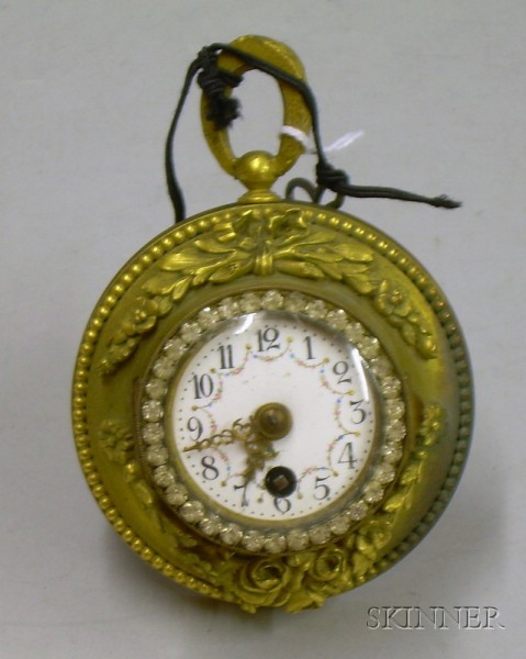 French Lady's Desk Clock