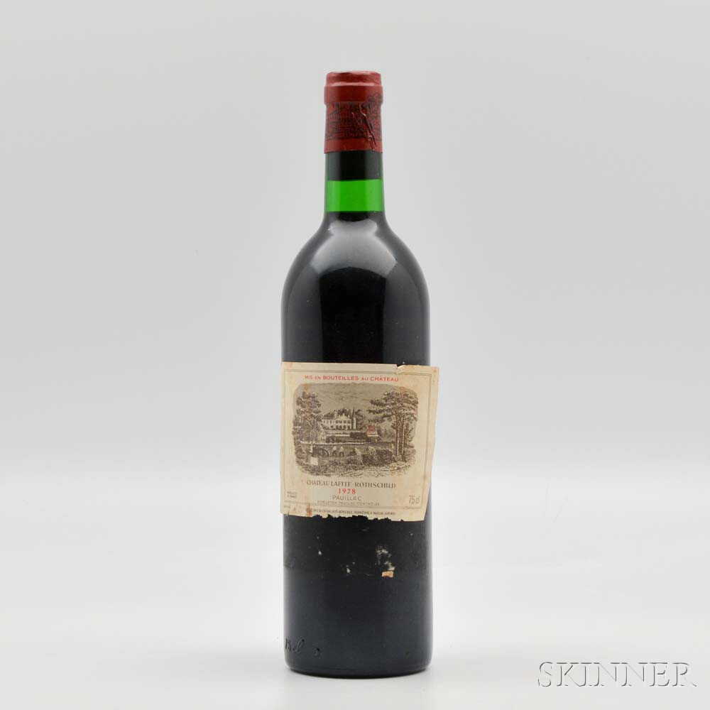 Chateau Lafite Rothschild 1978, 1 bottle
