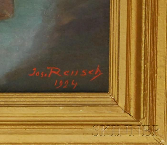 Joseph Reusch (German, 1887-1976)      Girl at Night