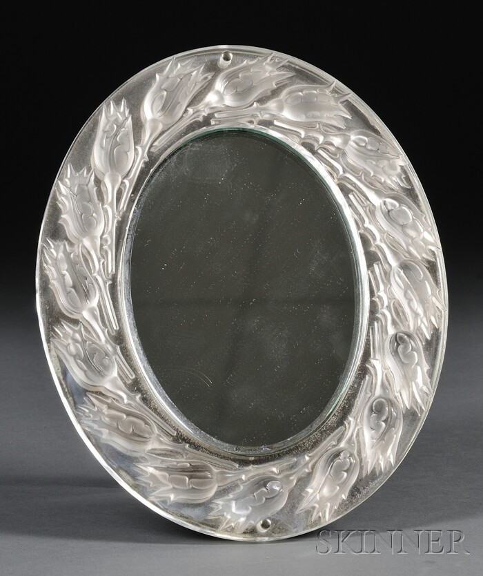 Lalique Dressing Table Mirror