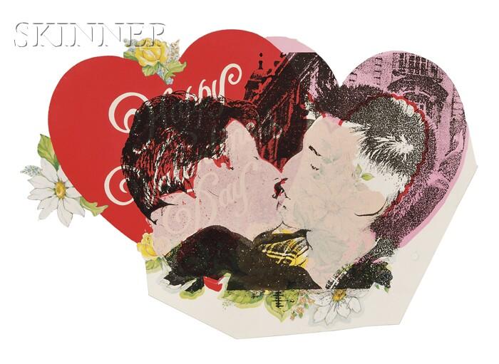 Eric Avery (American, b. 1948)      Four Prints: Valentine