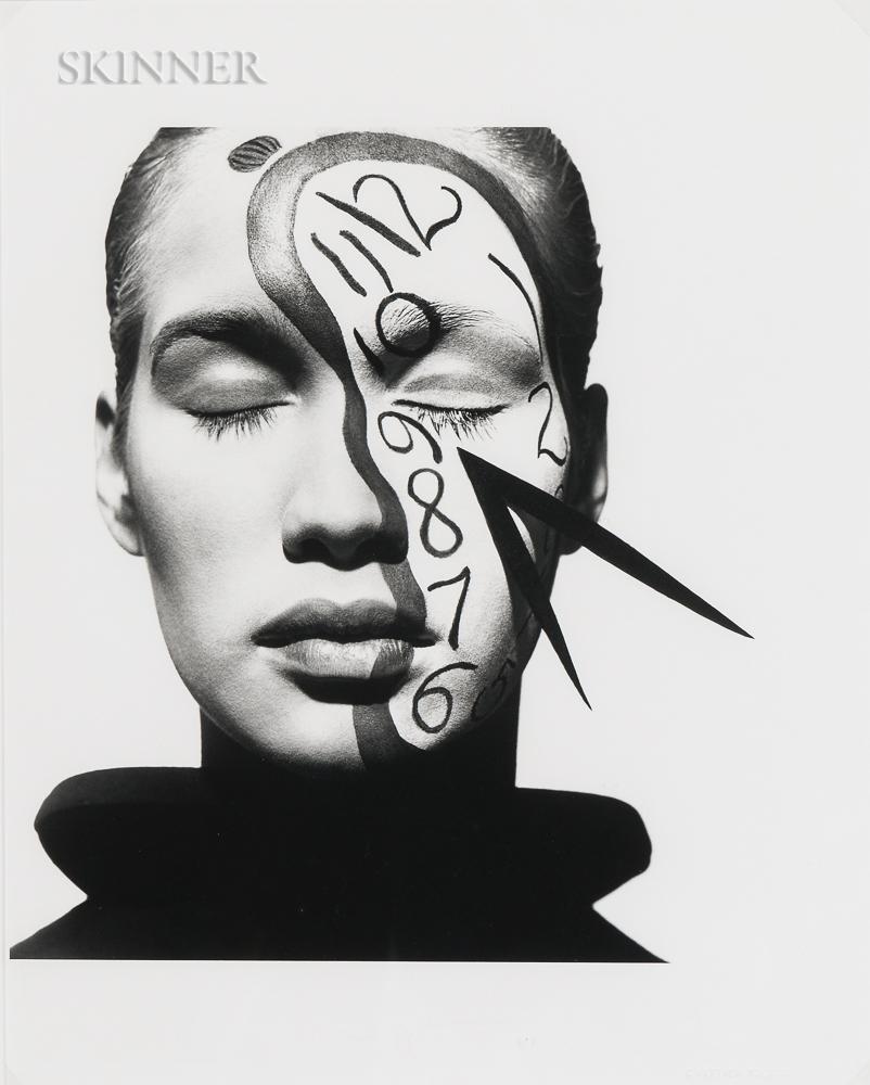 Matthew Rolston (American, b. 1955)      Anita, Clockface, New York