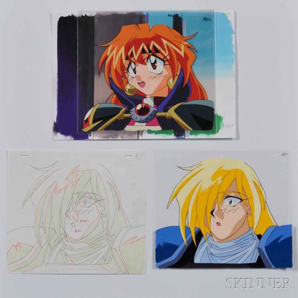 Japanese Anime Cels