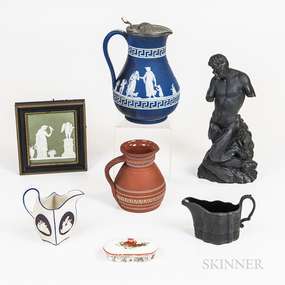 Seven Wedgwood and Related Ceramic Items