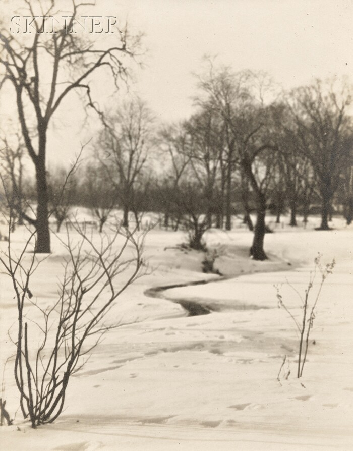 Bernard Shea Horne (American, 1867-1933)      A Winter Morning.