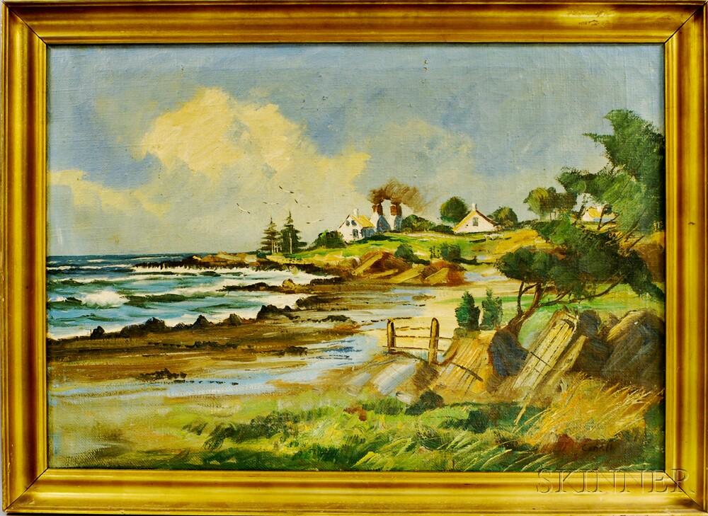 American School, 20th Century       Coastal Landscape