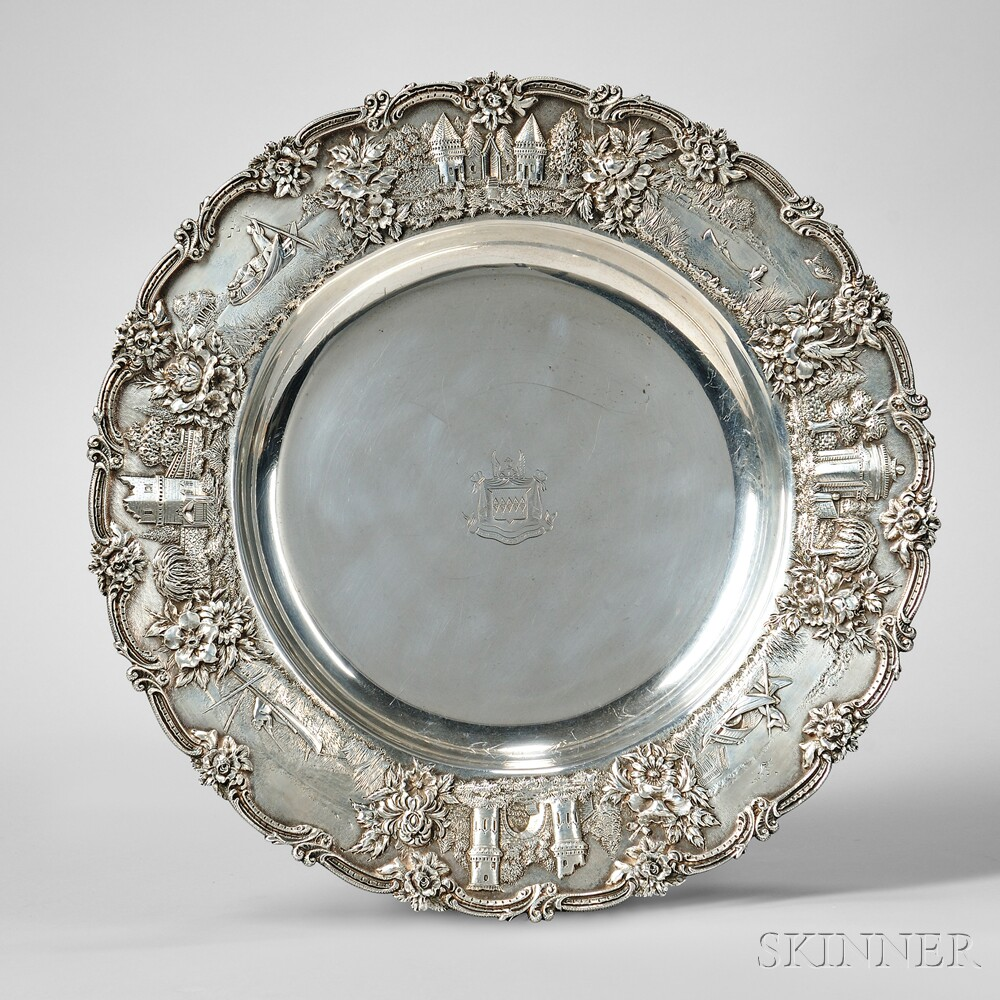 S. Kirk & Son Co. Sterling Silver Charger