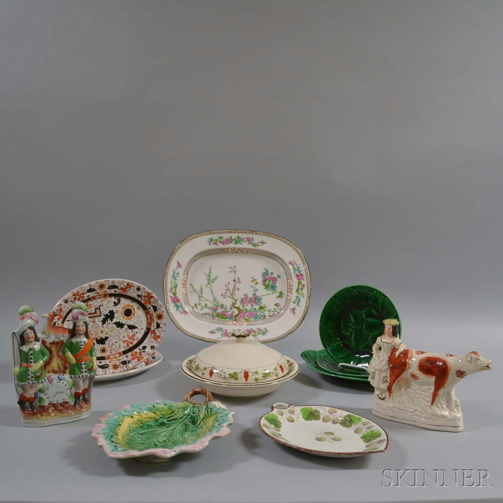 Eleven Assorted English Ceramic Items