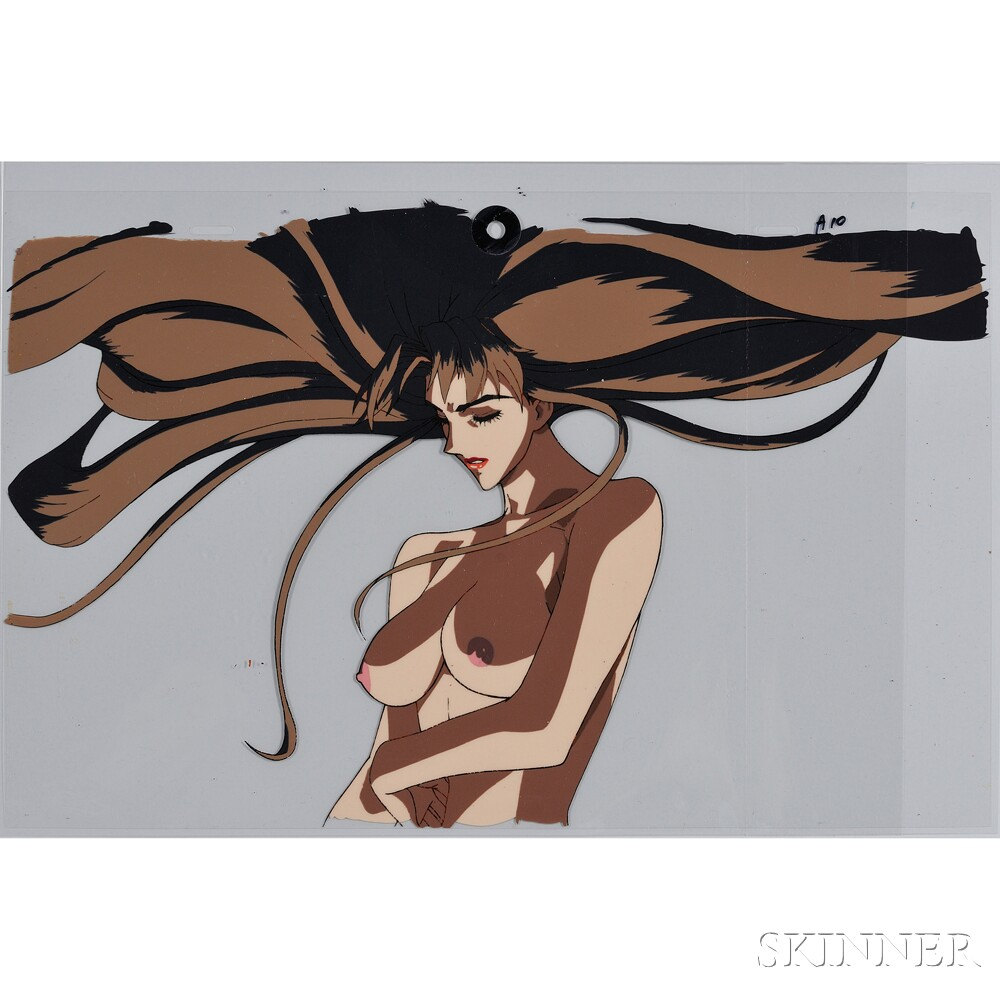 Two Japanese Animation Cels