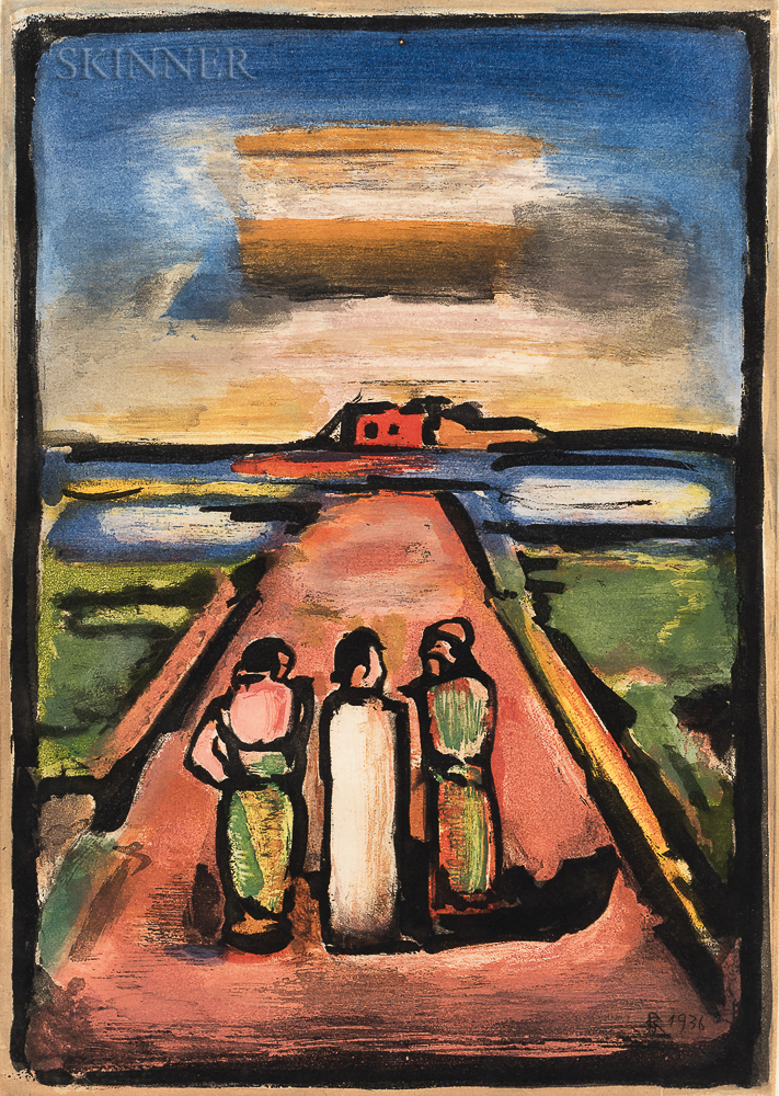 Georges Rouault (French, 1871-1958)      Les disciples