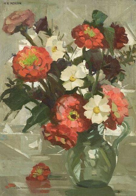 Marguerite Stuber Pearson (American, 1898-1978)  Floral Still Life