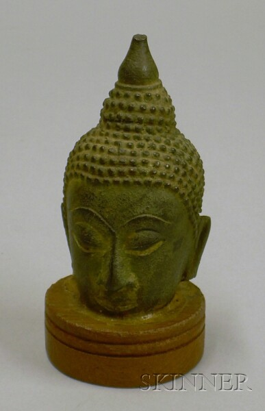 Bronze Head of the Buddha