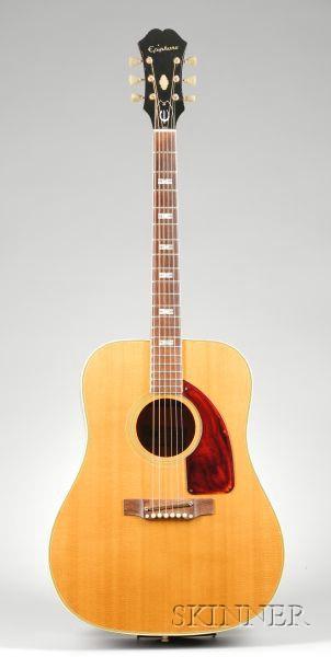 American Guitar, Epiphone Incorporated, Kalamazoo, c. 1962, Model Frontier