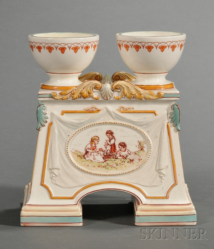 Wedgwood Lessore Queen's Ware Altar