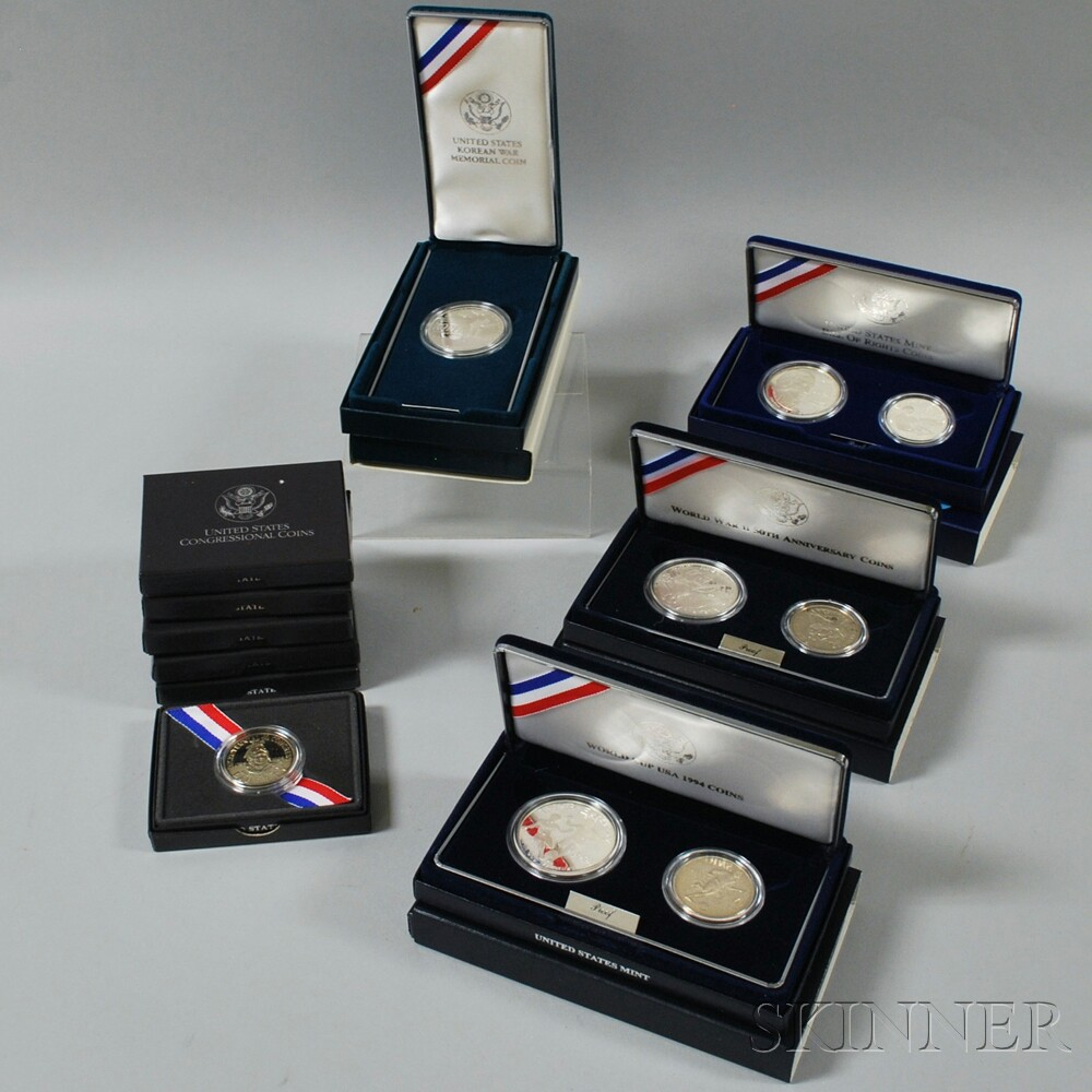 Group of American Commemorative Coins
