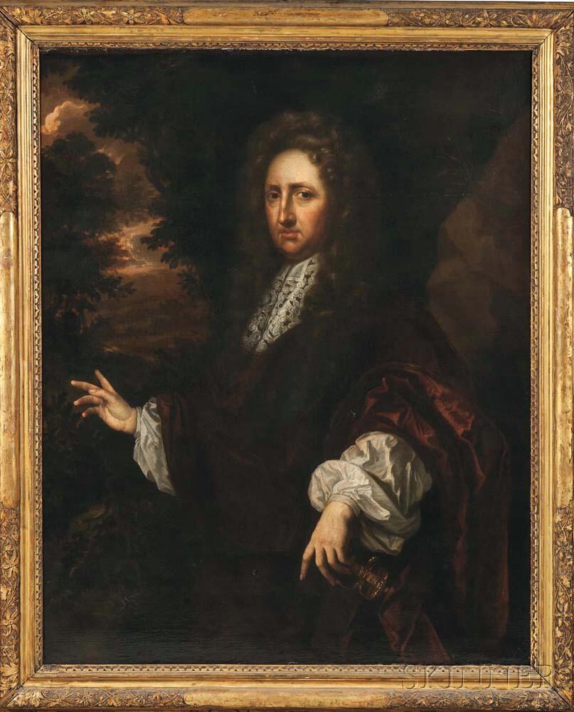 School of Sir Godfrey Kneller (British, 1646-1723)      Portrait of a Nobleman