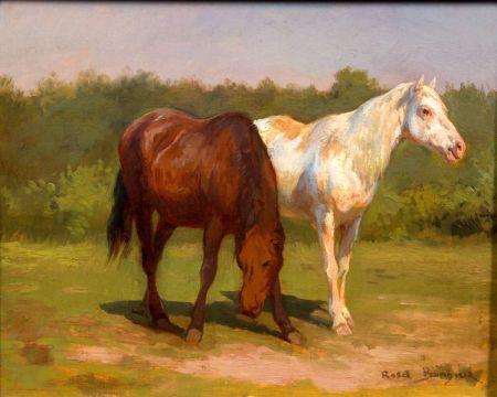 Rosa Bonheur (French, 1822-1899)    Horses