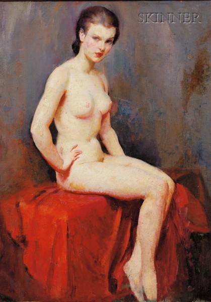 Clement H. Donshea (American, fl. circa 1920)      Nude