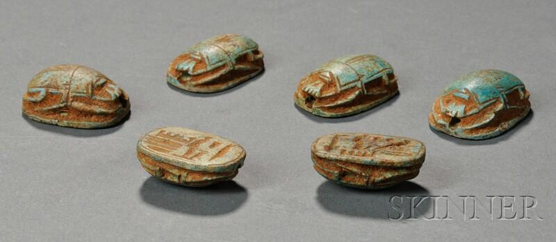 Six Scarabs