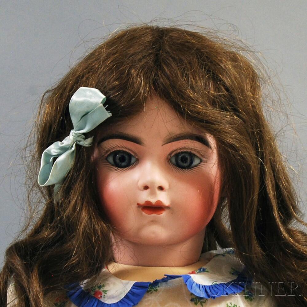 Bru Jne R French Bisque Socket Head Doll